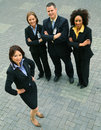 Successful Group Of Diversity Business People Royalty Free Stock Photo