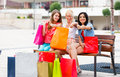 Successful Shopping Royalty Free Stock Photo
