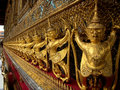 Such a rich golden kingdom you will find this everywhere in thailand Royalty Free Stock Images