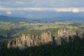 Suche skaly czech republic in bohemian paradise Royalty Free Stock Photos