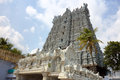 Suchindram temple kanniyakumari tamilnadu kerala india view of Stock Photo