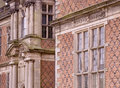 Sudbury Hall (detail) Royalty Free Stock Photo
