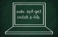 Sudo apt-get install a-life