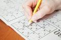 Sudoku Royalty Free Stock Photo
