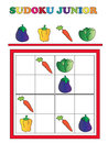 Sudoku junior game for children Stock Photography