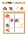 Sudoku junior Royalty Free Stock Photo