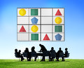 Sudoku Puzzle Problem Solving Leisure Games Concept Royalty Free Stock Photo
