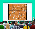 Sudoku Puzzle Solving Problem Solution Leisure Concept Royalty Free Stock Photo