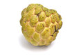 Sugar apple fruit freshly ripe on white background Royalty Free Stock Images