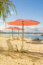 Sugar Beach Royalty Free Stock Photo