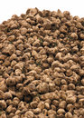 Sugar beets in the field have been harvested and are piled and ready for market Stock Photo