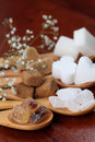 Sugar collection Royalty Free Stock Photo