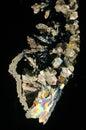 Sugar Crystals Pattern Royalty Free Stock Photo