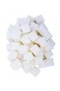Sugar cube Royalty Free Stock Photo