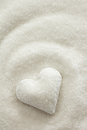 Sugar Heart Royalty Free Stock Photo
