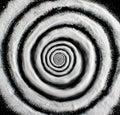 Sugar hypnosis spiral Royalty Free Stock Photo