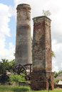 Sugar Mill Ruins Stock Image