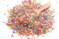 Sugar sprinkle decoration for cake and bakery Stock Photography