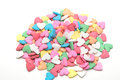 Sugar sprinkle decoration for cake and bakery Stock Image