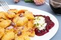 Sugared pancake - Kaiserschmarrn