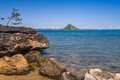The sugarloaf of Antsiranana bay Stock Image