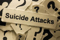 Suicide Attacks Royalty Free Stock Photo