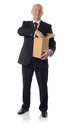 Suit open box Stock Photo