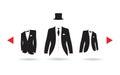 A suit selection