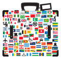 Suitcase for traveller. Stock Photography