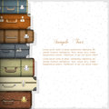 Suitcases Royalty Free Stock Image