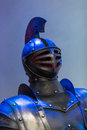 Suits of armour knight from medieval times Stock Photos