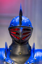 Suits of armour knight from medieval times Royalty Free Stock Photo