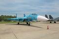 Sukhoi Su-27 Royalty Free Stock Photo