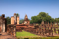Sukhothai historical park. Buddhist temple ruins in Sukhothai historical park Royalty Free Stock Photography