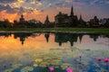 Sukhothai historical park Royalty Free Stock Photo