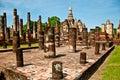 The Sukkothai historical park Stock Image