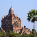 Sulamani temple ancient city bagan myanmar burma Stock Image