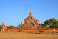 Sulamani temple in bagan myanmar Stock Images
