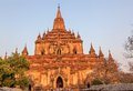 Sulamani temple in bagan myanmar Royalty Free Stock Photo