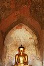 Sulamani Temple Buddha Image, Bagan, Myanmar Royalty Free Stock Photo