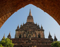 Sulamani temple, Myanmar Stock Photography