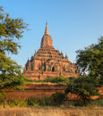 Sulamani temple myanmar ancient bagan pagoda of in bagan Royalty Free Stock Photography