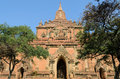 Sulamani temple myanmar in bagan Royalty Free Stock Images
