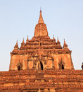 Sulamani temple is pagoda in bagan area myanmar Stock Photography