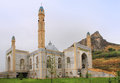 Sulayman Too mosque in Osh city, Kyrgyzstan Royalty Free Stock Photo