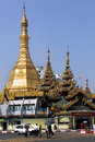 Sule pagoda yangon myanmar the is a burmese stupa located in the heart of downtown rangoon in burma it is in the centre of the Stock Photos