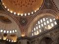 Suleimanie mosque  interior Stock Image