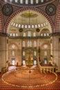 Suleyman's Mosk Royalty Free Stock Photo