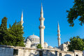 Suleymaniye Mosque in Istanbul Royalty Free Stock Photo