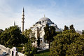 Suleymaniye Mosque in Istanbul Turkey Royalty Free Stock Images